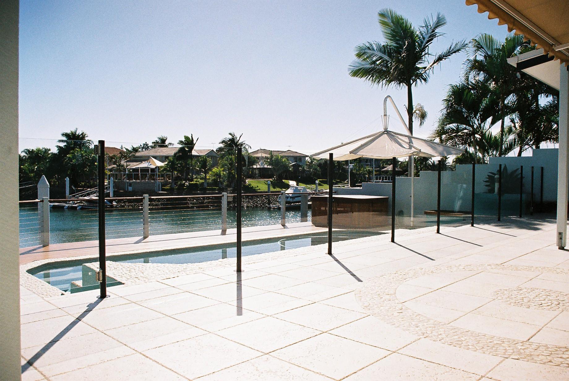 Semi Frameless Glass Pool Fencing Lismore Ballina Byron Bay
